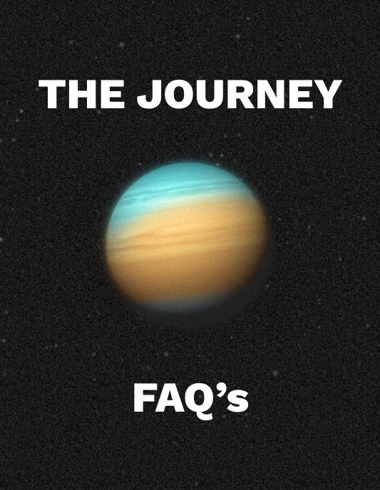 The Journey FAQ's title + Planet